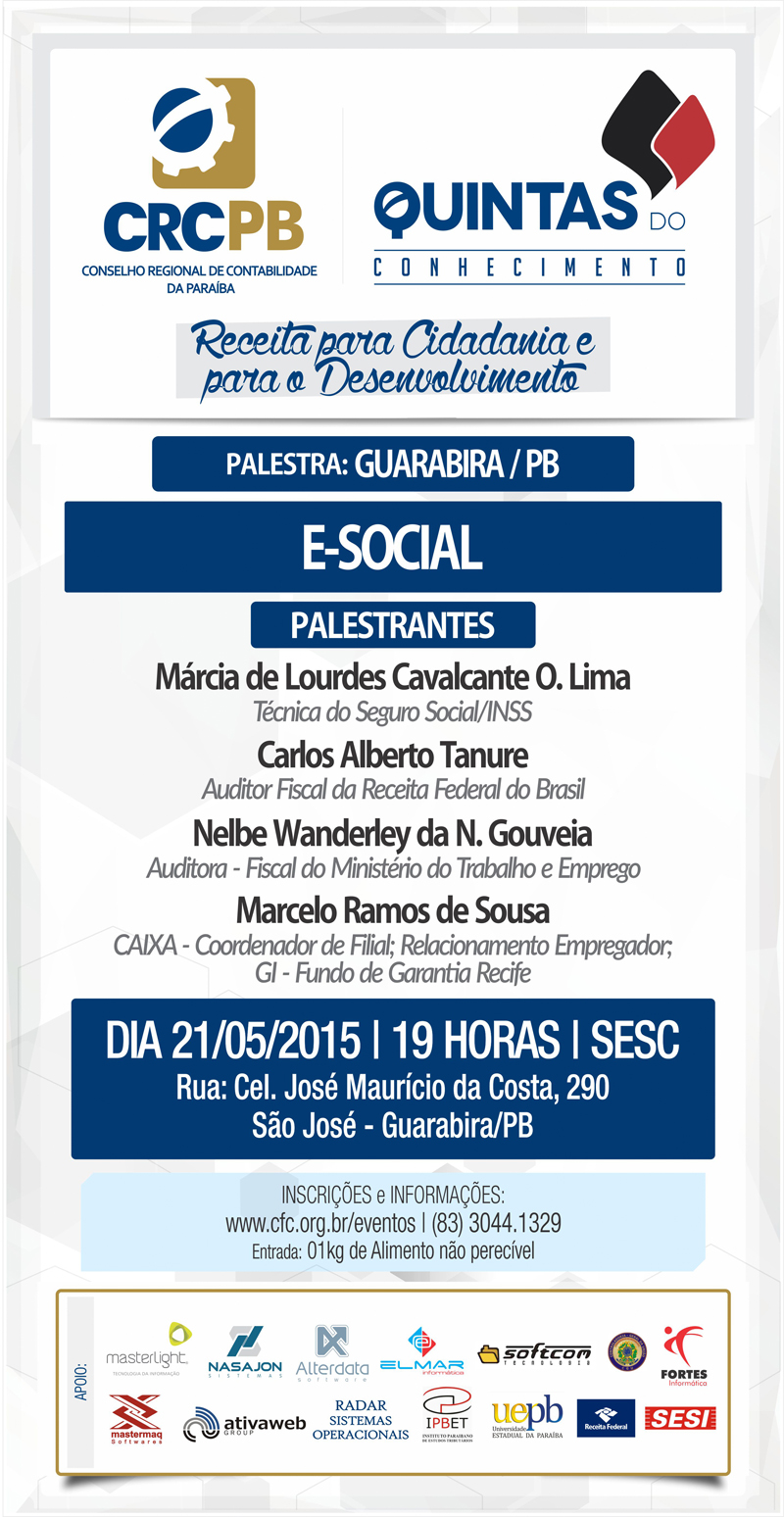 Guarabira - 21_05_E-SOCIAL