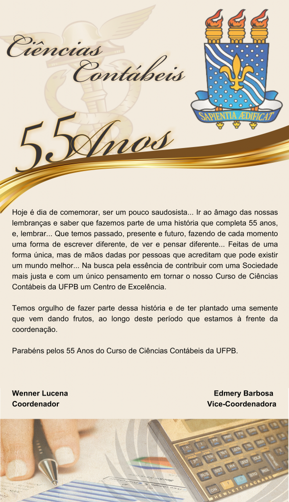 55 anos da UFPB