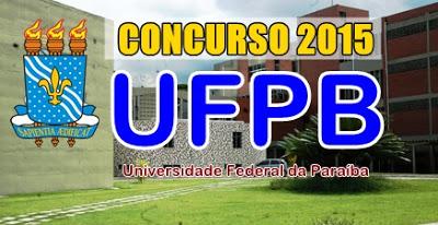 concurso ufpb 2015