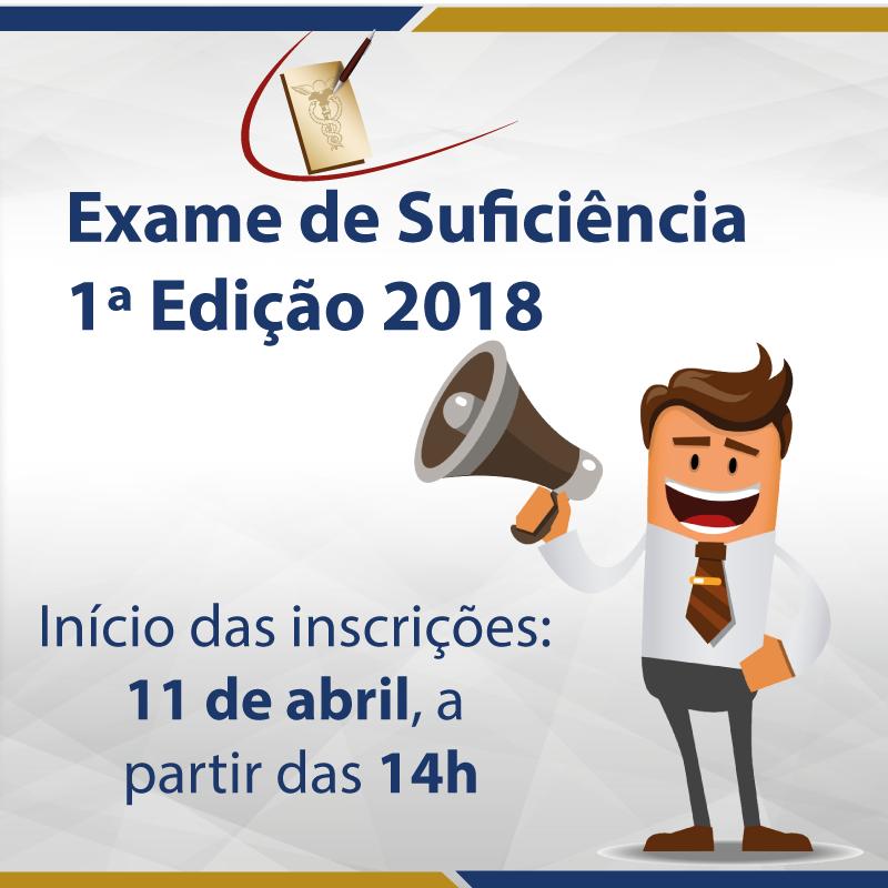 crc pb exame de suficiência estão abertas as inscrições para aexame de suficiência estão abertas as inscrições para a 1ª edição da prova em 2018